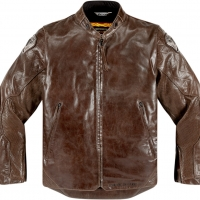 Blouson cuir Icon 1000 Retrograde