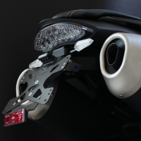 Support De Plaque Evotech Triumph Speed triple 2016 + LED