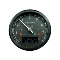 Compte Tour Motogadget Motoscope Tacho Chronoclassic Dark 8000  trs/min