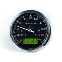Compteur de Vitesse Motogadget Motoscope Chronoclassic Speedo Dark
