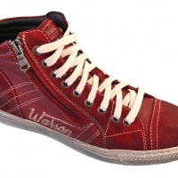 Chaussures Warson Motors Rally Rouge