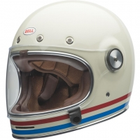 Casque Intégral Bell Bullit Culture Stripes Pearl Blanc