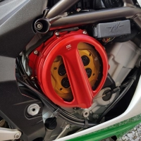 Carter Embrayage Transparent Commande A Cable CNC MV Agusta BRUTALE 800 STRADALE VELOCE