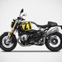 Silencieux ZARD Haut Edition limitée Nine T 1200 pure urban Racer