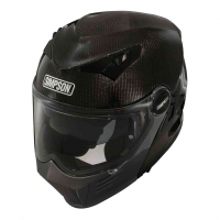 Casque Moto SIMPSON Darksome Carbon