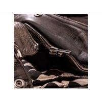 Blouson cuir Holyfreedom Quatro Noir