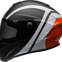 Casque Intégral Bell Star Tantrum Mat Brillant Noir/Blanc/Orange
