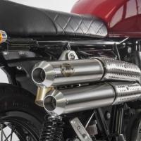 Silencieux Zard ligne haute Racing Royal Enfield 2019 Continental GT interceptor