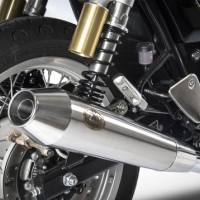 Silencieux Zard Slip on Royal Enfield 2019 Continental GT interceptor