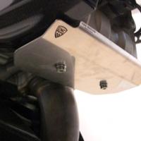 Platine Protection Sous Moteur Inox Ducati Multistrada 1200