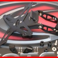 Support De Plaque KTM 690 DUKE, 690 Supermoto / R + LED