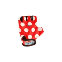 Gants Red Dotty Kiddimoto