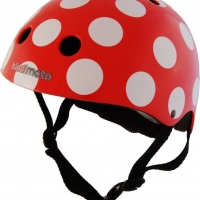 Casque Red And Dotty