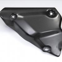 Protection Echappement Carbone Ducati 1098 1198 (Carbone Poli Brillant)
