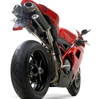 Echappement Carbone Two Bros Ducati 1198 1098 848