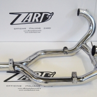 Collecteur Zard Racing Inox BMW R1200R 2011/2013
