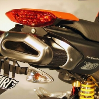 Echappement Penta ZARD Ducati Hypermotard 796 1100 EVO