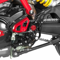 Commandes Reculées Ergal Cnc Racing Ducati Hypermotard Hyperstrada 821
