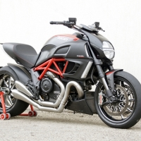 Echappement HP Corse Hydroform Ducati Diavel Factory