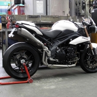 Double Echappement HP Corse Hydroform TRIUMPH Speed Triple 11/12